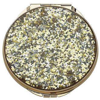kate spade new york Simply Sparkling Gold Compact