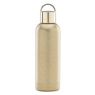 ksny gold glitter hydration bottle 500ml