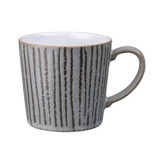 Dark Grey Vertical Mug