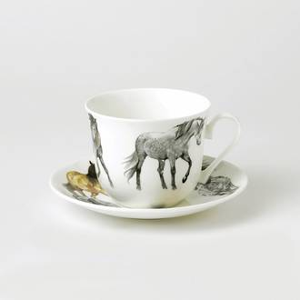 My Horse Breakfast Cup & Saucer