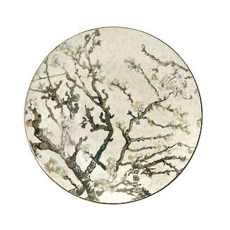 Almond Tree Silver Bowl 34cm