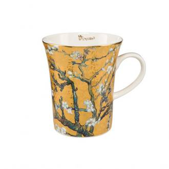 Almond Tree Gold Mug