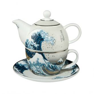 The Great Wave Tea for One