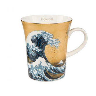 The Great Wave Gold Mug