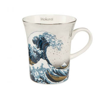 The Great Wave Silver Mug