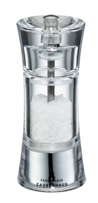 Aachen Acrylic 14cm Salt Mill
