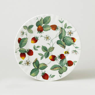 Alpine Strawberry Plate 20cm