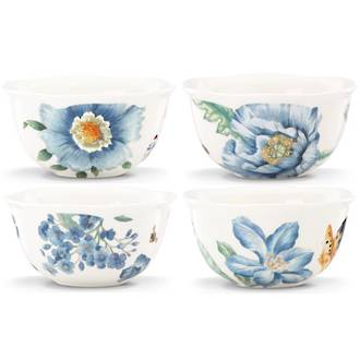 Butterfly Meadow Blue Bowl