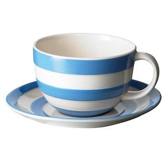 Cornish Blue Breakfast Cup & Saucer
