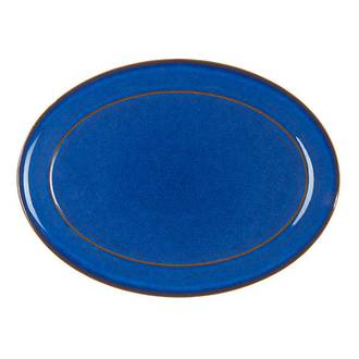 Imperial Blue Oval Platter