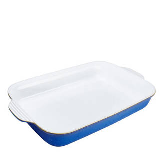 Imperial Blue Oblong Dish