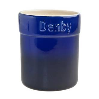 Utensil Jar Blue