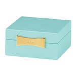kate spade new york Garden Drive Turquoise Square Jewellery Box