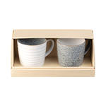 Studio Grey Ridged Mug Set 2