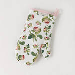 Redoute Rose Single Oven Glove