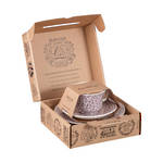 Felicity Mulberry Cup, Saucer & Plate Boxed