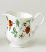 Alpine Strawberry Cream Jug