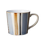 Stripe Brown Mug
