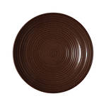 Craft Walnut Ridged Bowl Medium