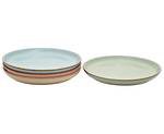 Deli Coupe Plate, set 4