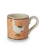 Highgrove Geese Mug - Orange