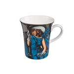 Woman with Gloves Mug