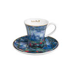 Monet Waterlilies Coffee Cup & Saucer