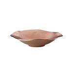 Organics Copper Small Low Bowl