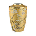 Van Gogh Almond Tree Gold Vase 24cm