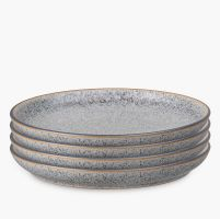 334605 Studio Grey Granite  4pc Coupe Dinner plate 200