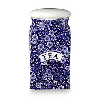 Calico Tea Canister