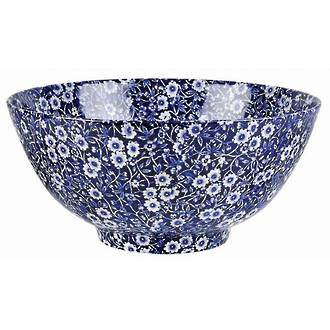 Calico Large Footed Bowl