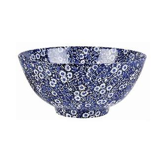 Calico Medium Footed Bowl