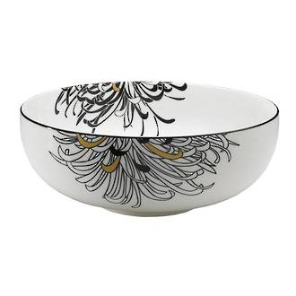Chrysanthemum Serving Bowl