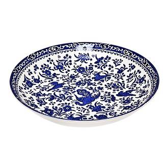 Regal Peacock Pasta Bowl