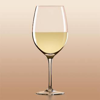 Tuscany White Wine, Set of 6