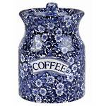 Calico Coffee Storage Jar - Old Style