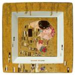 Klimt Square Plate - The Kiss