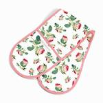 Redoute Rose Double Oven Glove
